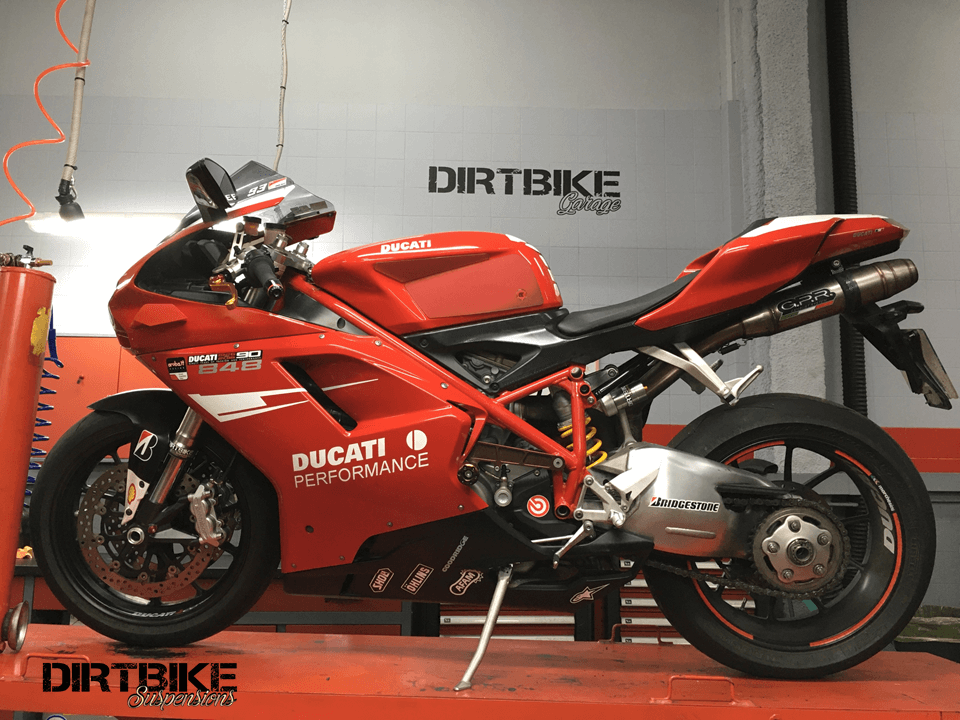 Ducati 848 moto